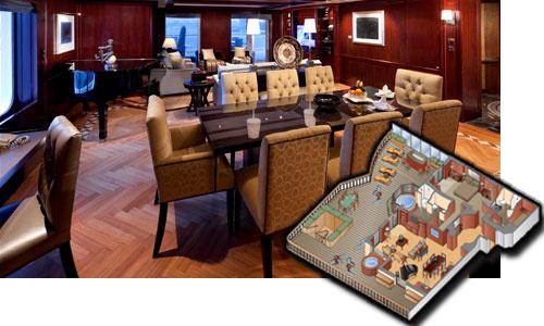 Cabin Penthouse Suite