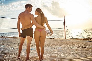 Desire Riviera Maya koppel volleybal