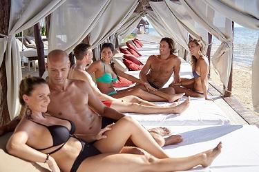 Desire Riviera Maya strandbedden